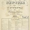 Maps of the City of New York 1st, 2nd, 3rd, & 4th Ward, by Williams Perris Civil Engineer and Surveyor 1855. Vol.1; Reference