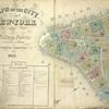 Maps of the City of New York by William Perris Civil Engineer and Surveyor Third Edition 1857.; Reference. Index.