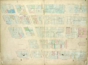 [Plate 7: Map bounded by Murray Street, Broadway, Dey Street, West Street; Including Robinson Street, Park Place, Barclay Street, Vesey Street, Fulton Street, Washington Street, Greenwich Street, College Place, Church Street]