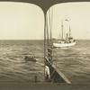 "The Pilot coming Aboard at Sandy Hook from Pilot Boat ""New Yorker, "" New York Harbor."