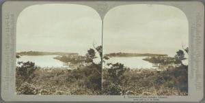 Panorama of Port Antonio, Jamaica.