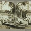 Native boat-builders and fishermen, Jamaica.