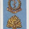 Regimental badges.