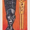 African carvings.