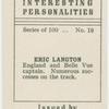 Eric Langton, speedway rider.