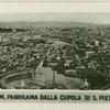 Rom. Panorama Dall Cupola di S. Pietro.