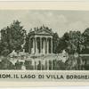 Rom. Il Lago di Villa Borghese
