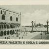 Venezia. Piazzetta e Isola S. Giorgio.