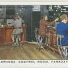 Radio telephone: Control Room, Faraday Building.