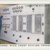 Radio telephone: Wick Coast Station transmitting set.