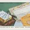 St. Valentine's Day greeting telegram.