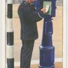 Police telephone pillar.
