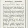 Automatic telegram conveyor.