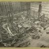 Woolworth Bldg. foundations, Broadway and Park Place
