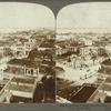 Columbus Square, City and Bay, from San Cristobal Fortress, San Juan, Porto Rico.