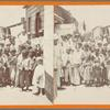 Groupe of natives in Ponce, Porto Rico