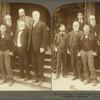 Booker T. Washington and distinguished guests, Tuskegee Institute Alabama.