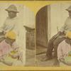 [Man with breast-feeding woman.]