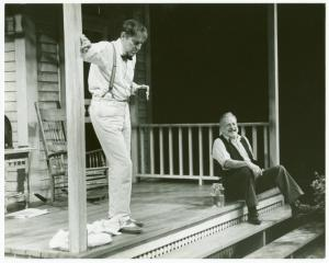 John Cullum and George C. Scott