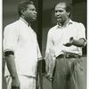 Production still, Ossie Davis and Louis Gossett