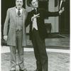 Bernard Fox and Louis Jourdan