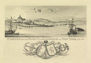 Novum Amsterodamum / engraved for the the Society of Iconophiles of New York, 1906 ; engraved by Sidney L. Smith.