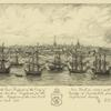A south east prospect of the City of New York in 1756-7 with the French prizes at anchor