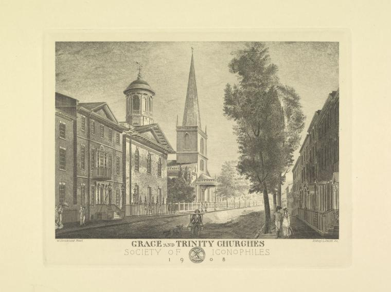 This is What Trinity Church Looked Like  in 1908