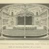 Interior of the Chatham Theatre, New York 1825
