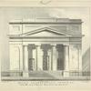 Second Congregational Church, N.Y. Erected 1826 corner of Prince and Mercer Streets. Front sixty three feet