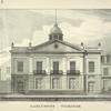Lafayette Theatre ; A. J. Davis del ; Imbert's Lithography ; Peter Grain, architect, 1827