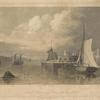 North Battery, foot of Hubert Stt. New-York