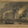 View of the great conflagration of Dec. 16th and 17th, 1835; from Coenties Slip