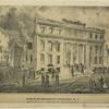 Ruins of the Merchant's Exchange N.Y. After the destructive conflagration of Decbr. 16 & 17, 1835 ; N. Currier's Press [sketched and drawn on stone by J. H. Bufford and two lines of description missing.]