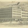 R. L. & A. Stuart's steam candy and sugar refinery, corner of Greenwich and Chambers Street, New York. Lossing. Opened 1806. Rebuilt 1835. Enlarged 1840.