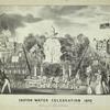 Croton water celebration 1842
