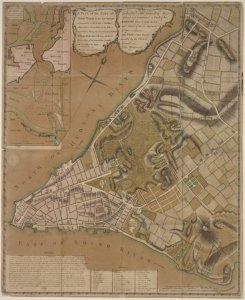 Plan of New York City of New-York and its environs to Greenwich . . .Town. Survey'd in the winter, 1775 / R. Andrews, sculpt.