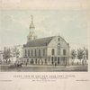 Front view of the New York Post Office located by authority of the Hon. Charles A. Wickliffe, post master general, and arranged by John Lorimer Graham Esq., postmaster. Feb. 1st, 1845