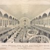 North interior view of the New York Post Office, located by authority of the Hon. Charles A. Wicliffe [sic] post master general. And arranged by John Lorimer Graham Esq. postmaster, Feb. 1st, 1845