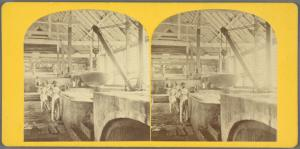 Interior of Sugar Boiling House, Baseterre, St. Kitts.