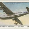 "Imperial Airways empire flying-boat ""Caledonia"" ."