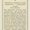 "Imperial Airways liner ""Horatius"": ""Heracles"" class."