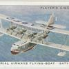 "Imperial Airways flying-boat ""Satyrus""."