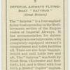 """Imperial Airways flying-boat """"Satyrus""""."""