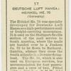 Deutsche Luft Hansa: Heinkel, HE.70.