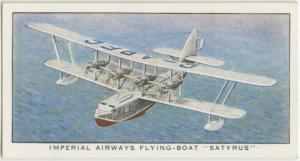 "Imperial Airways Flying-Boat ""Satyrus."""