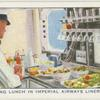 "Preparing Lunch in Imperial Airways Liner ""Scylla."""