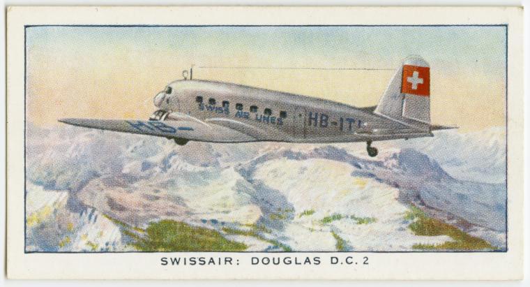 Swissair: Douglas D.C. 2.