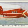 "Swissair: Lockheed ""Orion."""