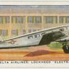 "Delta Airlines: Lockheed ""Electra."""